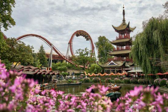 Get an Adrenaline Rush at Tivoli Gardens
