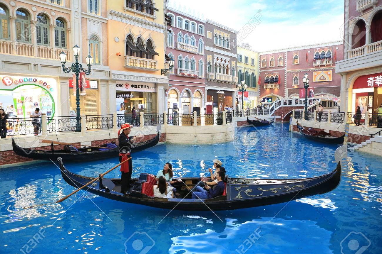 Take a Gondola Ride at The Venetian