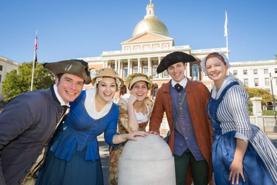 Guided walk of the Freedom Trail