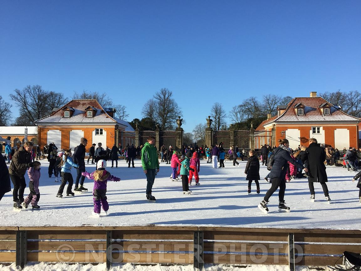 Ice Skate on the Frederiksberg Runddel