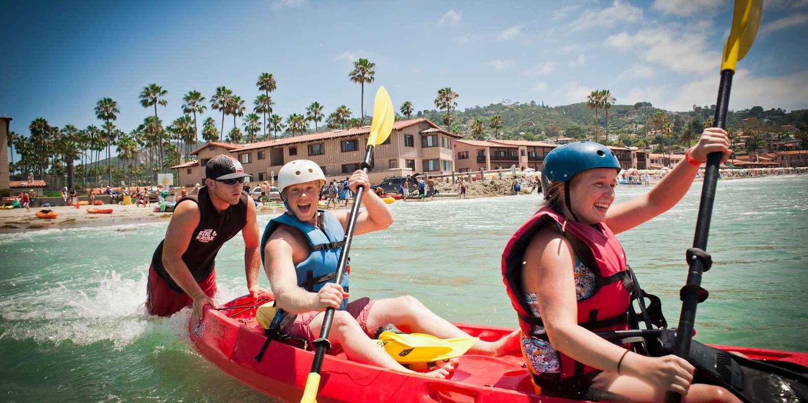 Kayak to Sea Caves