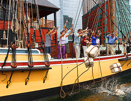 Learn about the Boston Tea Party