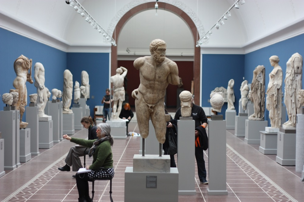 Look Back in Time at the Ny Carlsberg Glyptotek