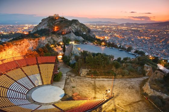 Panoramic View from Lycabettus Hill