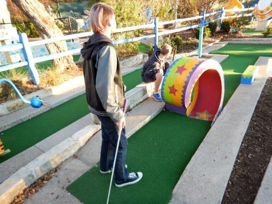 Play a Game at Peter Pan Mini-Golf
