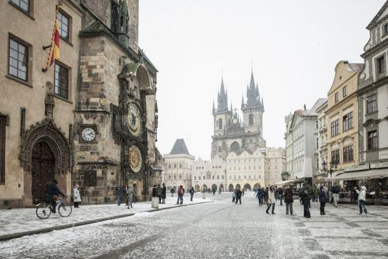 Prague weather in February