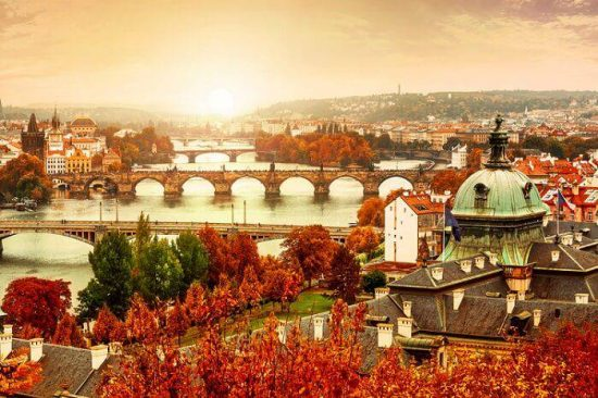 Prague weather in October