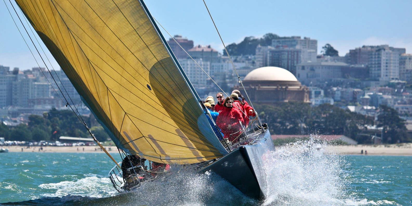 Ride a Racing Yacht