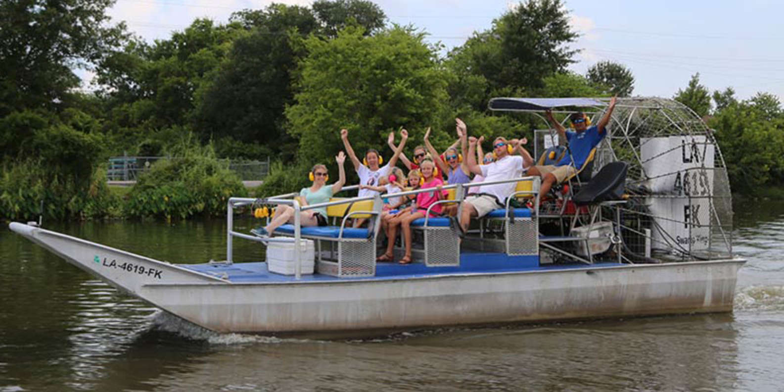 Ride on an Airboat