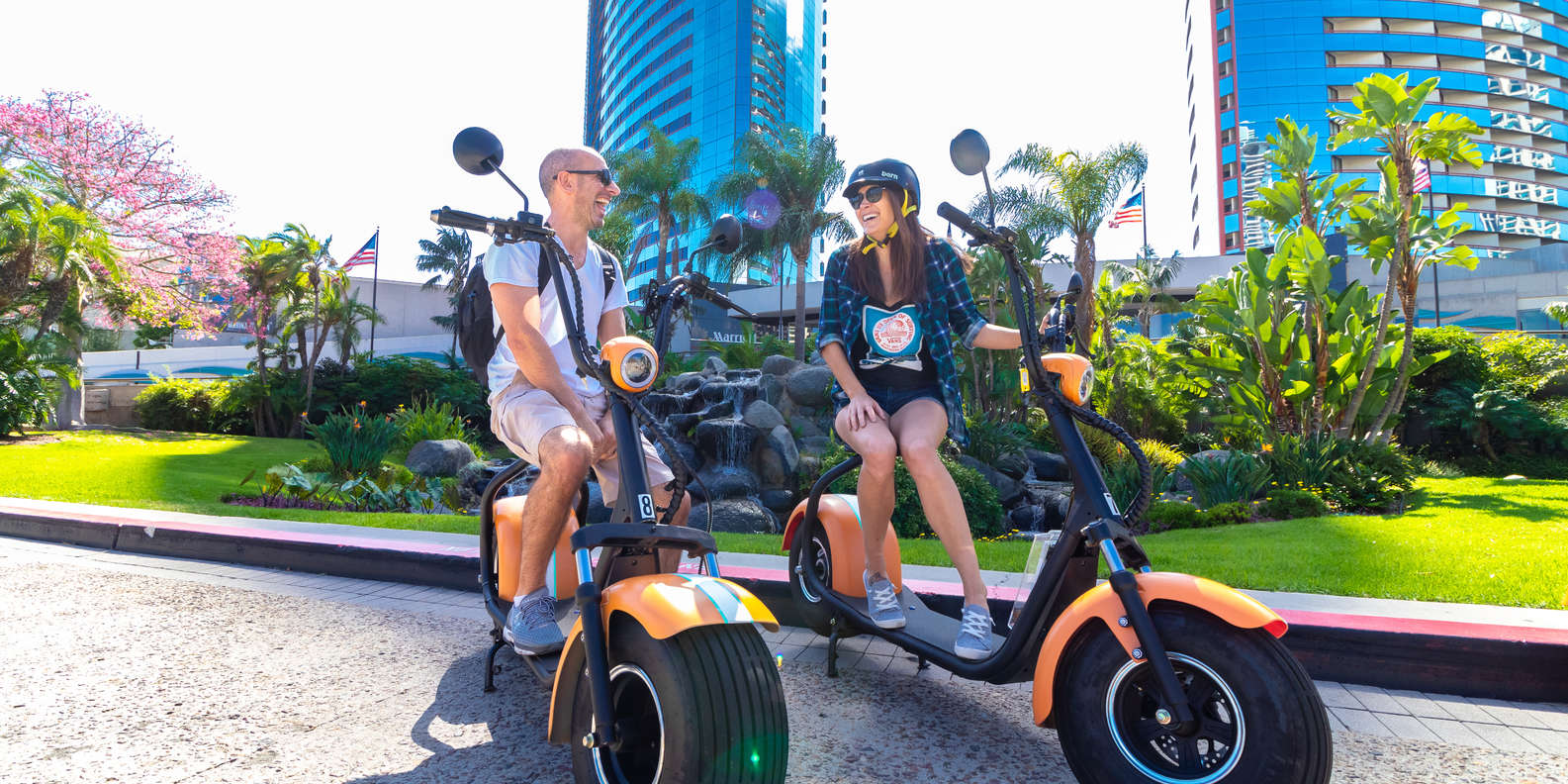 Scooter Tour around Downtown