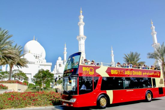 See More of Abu Dhabi with a Hop-on Hop-off Bus