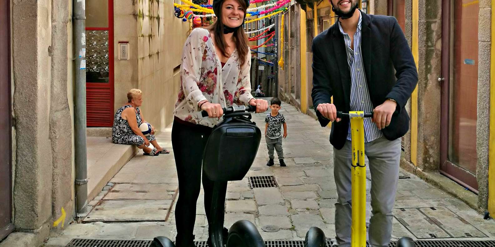 Segway Tour around the City
