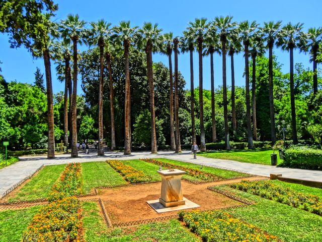 Stroll around the National Gardens
