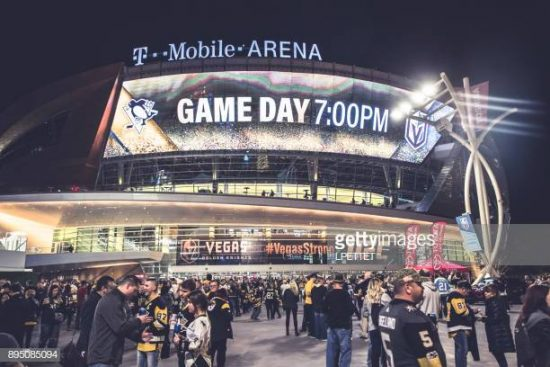 See a Game at the T-Mobile Arena