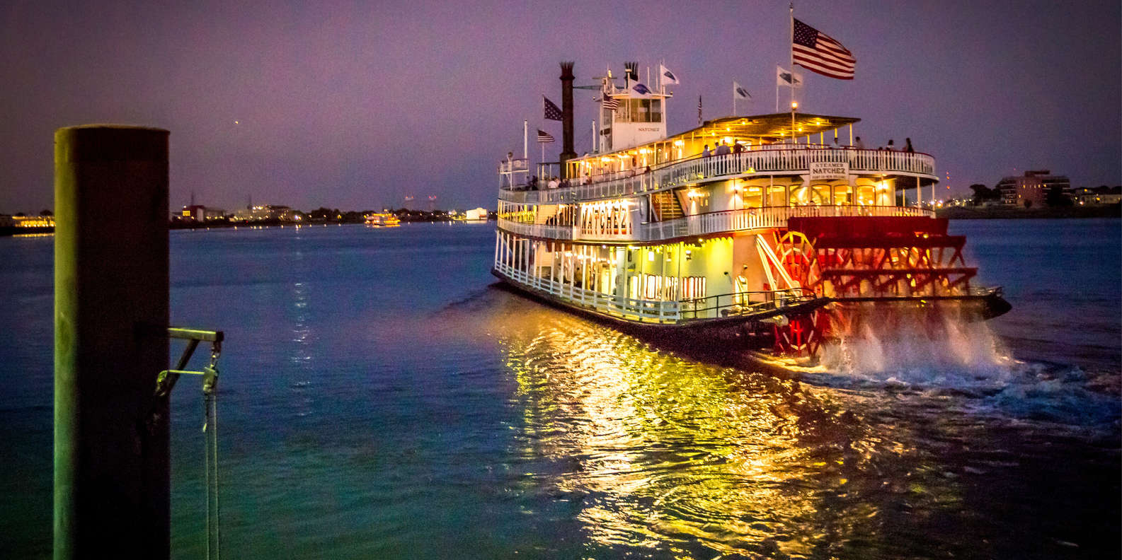 Take an Evening Ride on the Steamboat Natchez