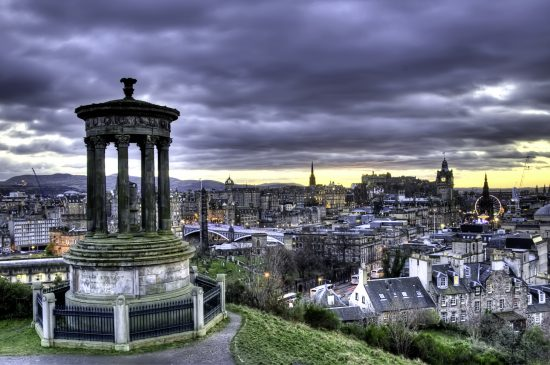 Take in the View at Calton Hill
