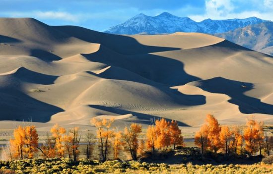 The Great Sand Dunes National Park and Preserve