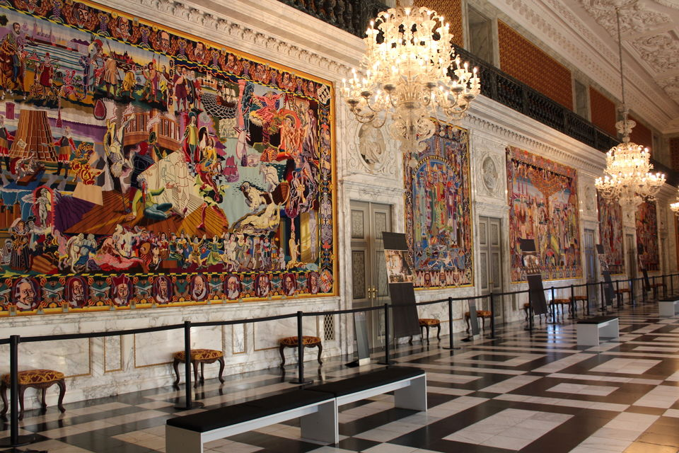Tour the Christiansborg Palace