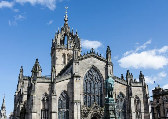 Tour the St. Giles Cathedral