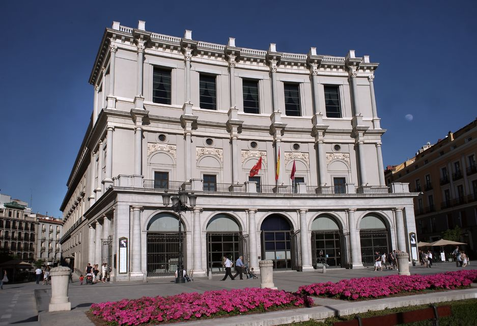 Tour the Teatro Real