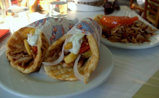 Try a Gyro (or two, or three!)