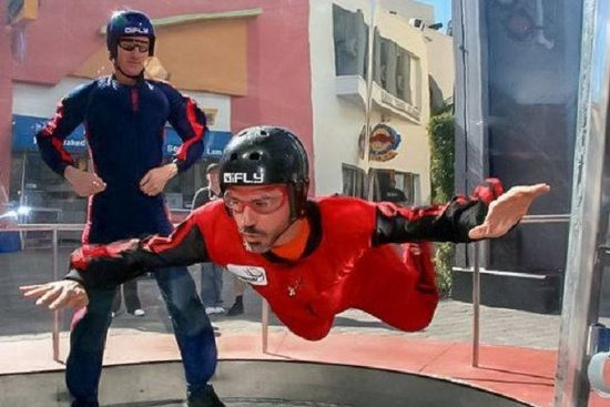 Try out Indoor Skydiving