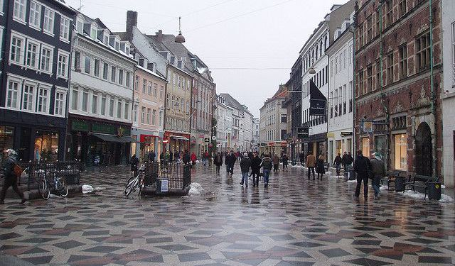 Walk along the Strøget
