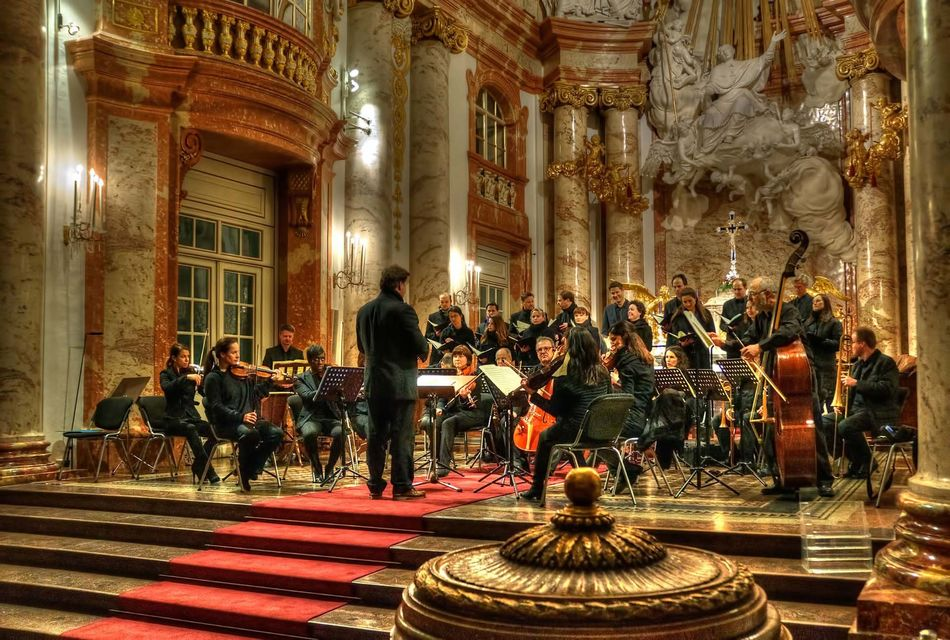 Concert of Mozart's Requiem in Karlskirche