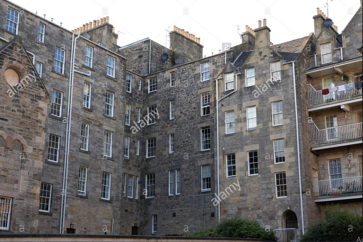 Edinburgh Tenements History