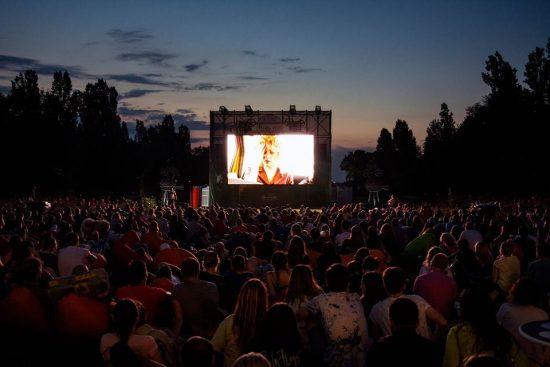 Enjoy Athens under the stars - outdoor cinema