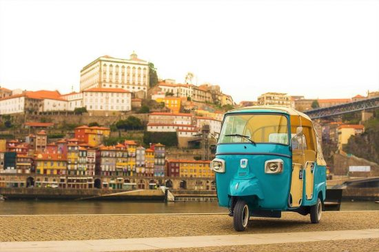 Guided Historical Tuk Tuk Porto Tour