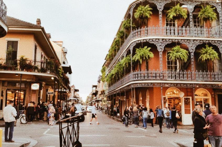 History of Bourbon Street