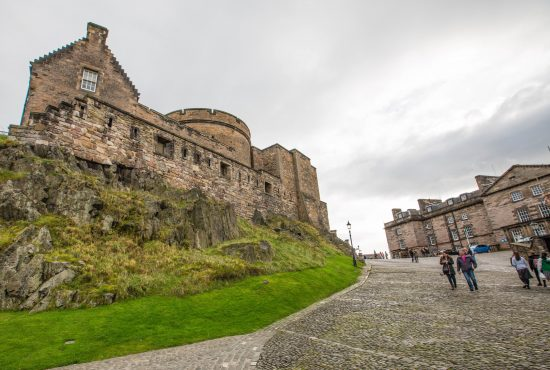 History of Edinburgh Castle