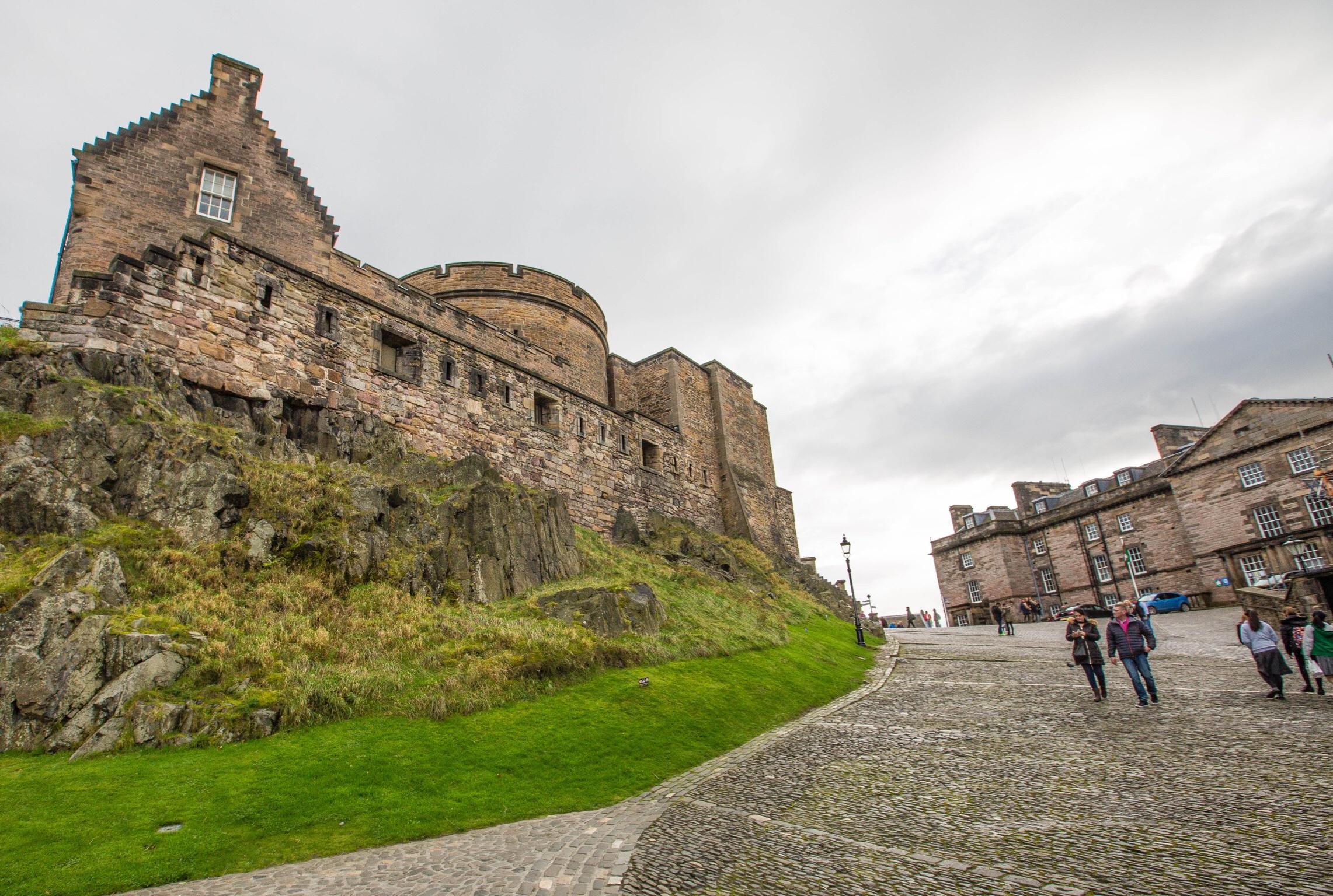 History of Edinburgh Castle