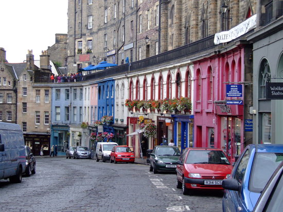 History of Edinburgh Old Town