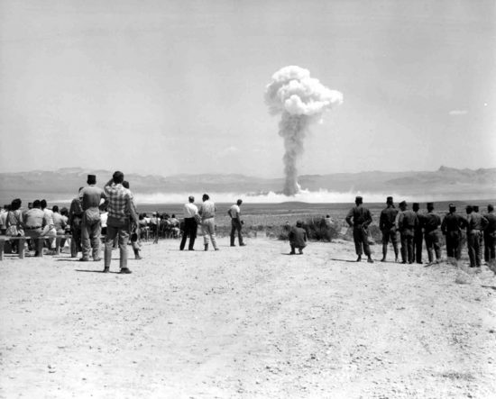History of Las Vegas Atom Bomb Testing