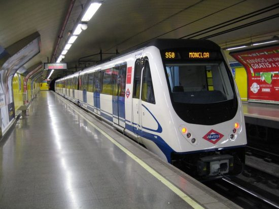 History of Madrid Metro