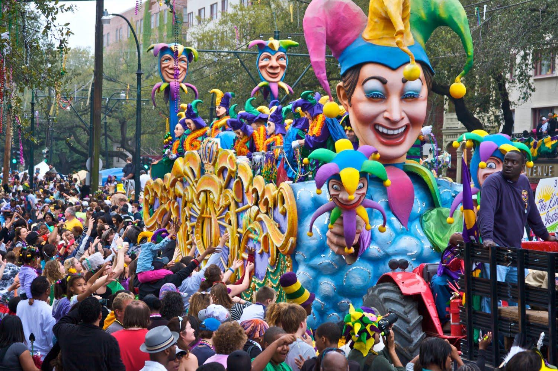 History of Mardi Gras Parade