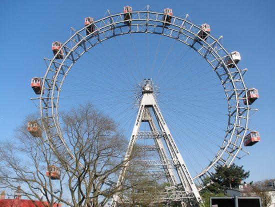 History of Vienna's Giant Ferris Wheel