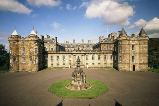 History of the Palace of Holyroodhouse