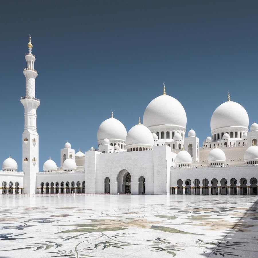 History of the Sheikh Zayed Mosque