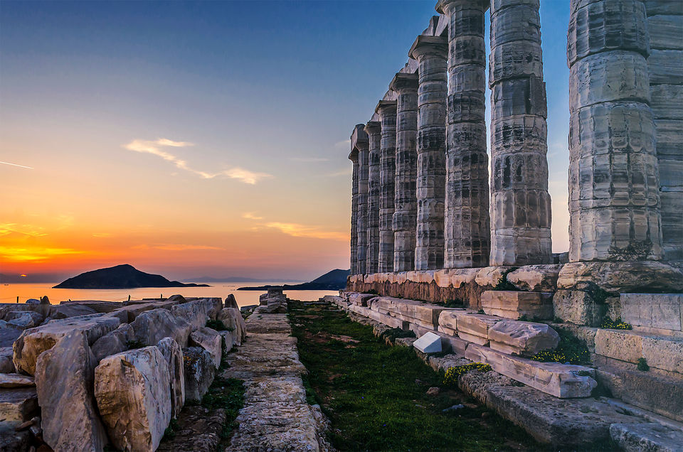 Sunset Trip to Cape Sounion & Temple of Poseidon
