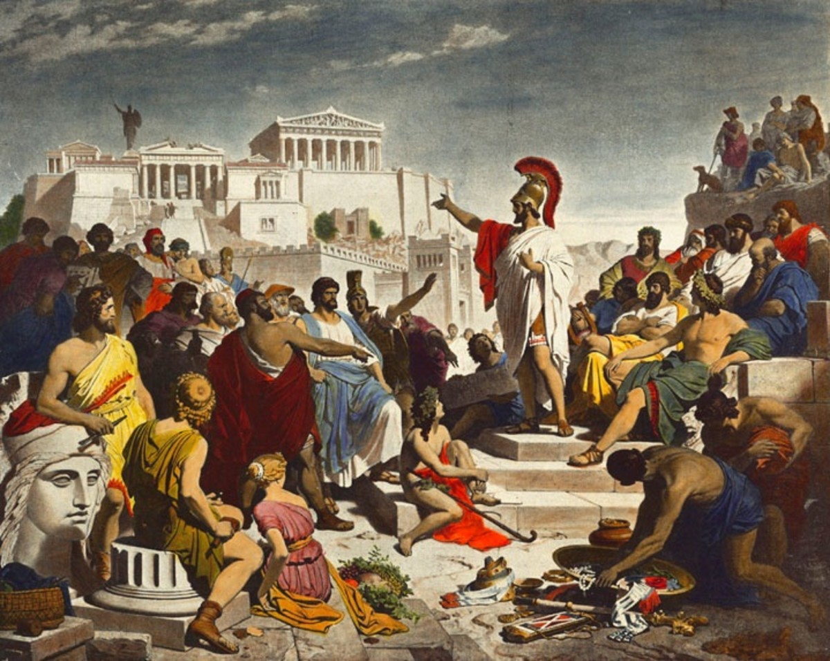 The History of Athens and Sparta