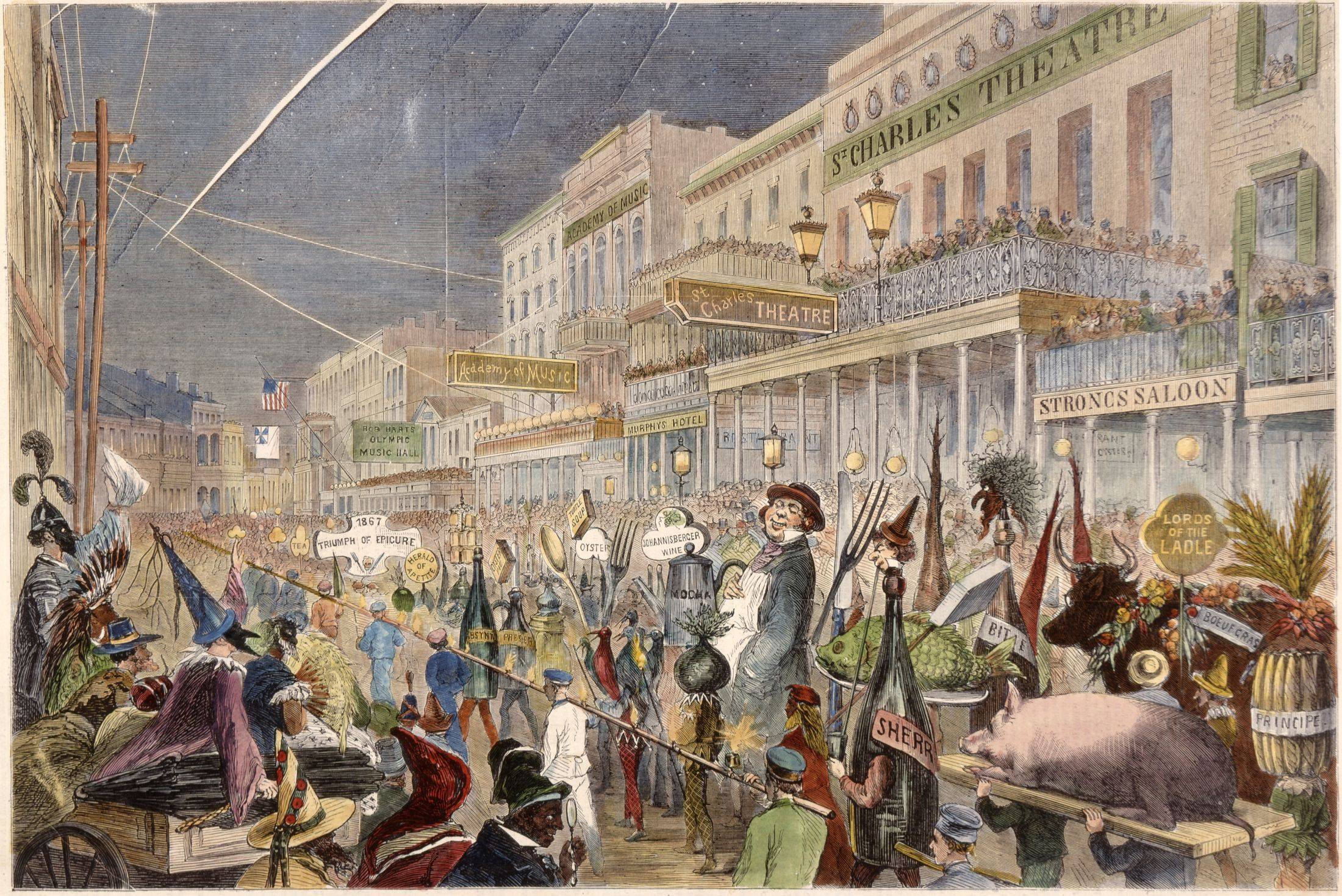 The History of New Orleans