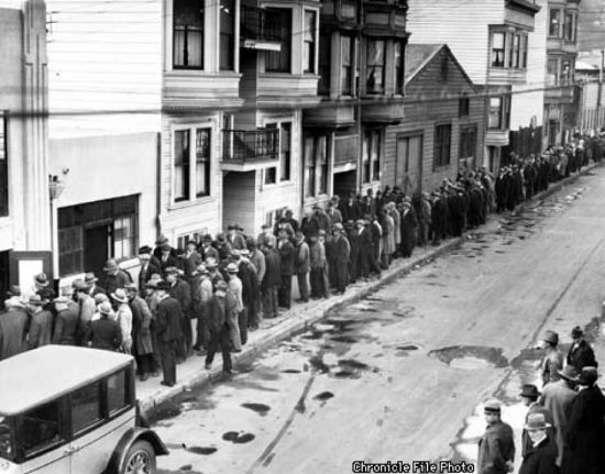 The History of San Diego and the Great Depression