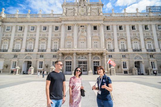 Tour Madrid's Royal Palace