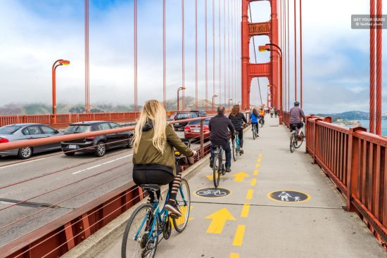 Golden Gate Bridge: 3-Hour Sausalito Cycle Tour
