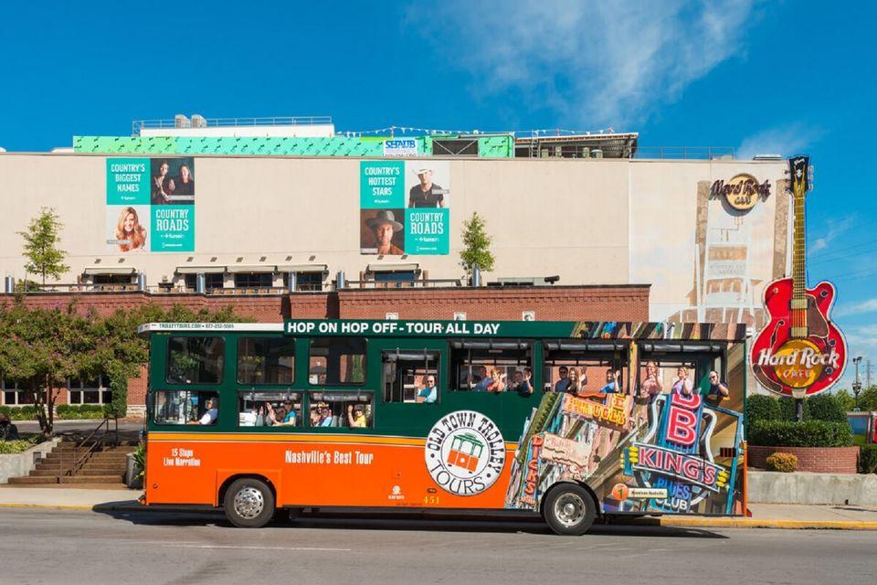 Hop-on Hop-off Nashville Trolley