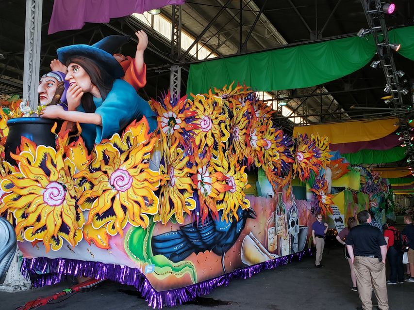 Mardi Gras World Behind-the-Scenes Tour
