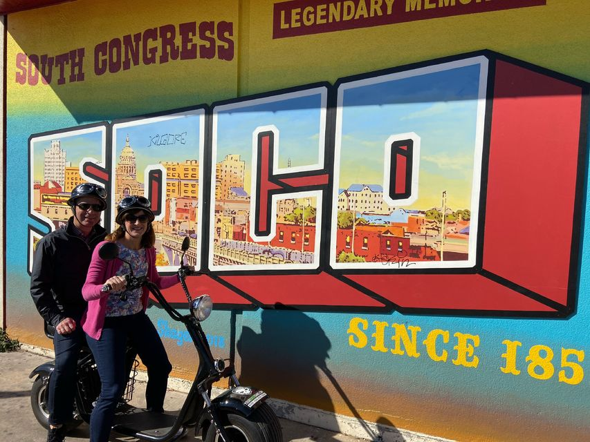 Murals And Street Art Electric Minibike Tour